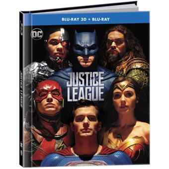 Liga da Justiça - Digibook Blu-ray 3D + 2D