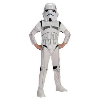 Disfarce Star Wars Stormtrooper (7-8 Anos)