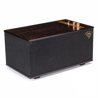 Klipsch The Three - Ebony Stereo portable speaker 60W Cubo Preto, Castanho