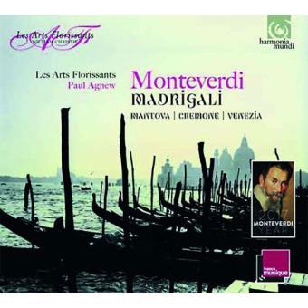 Monteverdi Madrigals Vols. 1-3 - 3CD