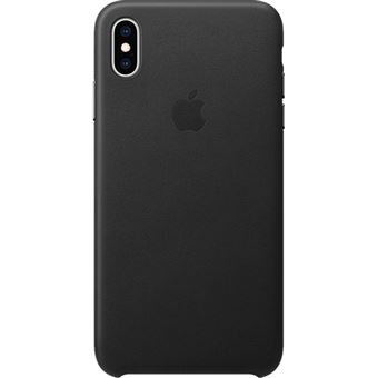 Capa Pele Apple para iPhone XS Max - Preto