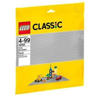 Base de Construção Cinzenta (LEGO Classic 10701)