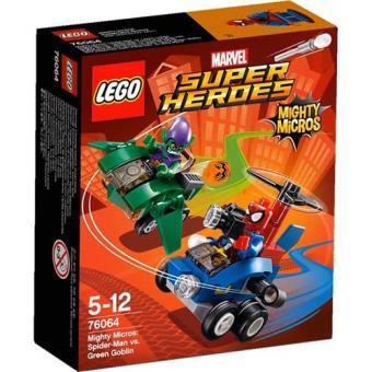 Poderosos Micros: Homem-Aranha contra Green Goblin (LEGO Super Heroes Marvel 76064)