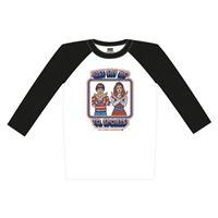 T-Shirt Baseball - Just Say No To Sports! Tamanho L