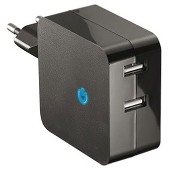 Carregador Temium 2x USB - Preto