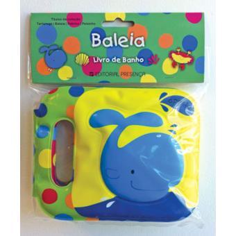 Baleia - Livro de Banho