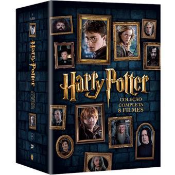 Coleção Harry Potter - Filmes DVD Edições Especiais