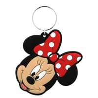 Porta-Chaves de Borracha Disney Minnie
