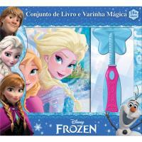 Frozen - Conjunto de Livro e Varinha Mágica
