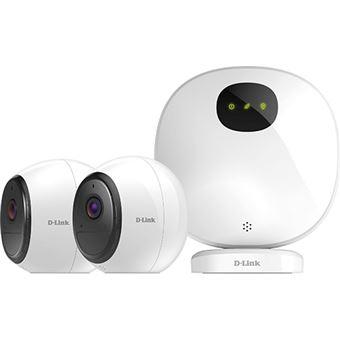 Kit Câmaras de Segurança Inteligente Wi-Fi D-Link mydlink™ Pro com Visão Noturna - FHD 1080p