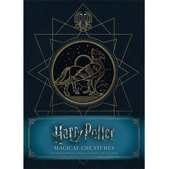 Caderno Liso Harry Potter - Magical Creatures Sketchbook A5