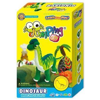 Colorful Dinosaur Brachiosaurus - JumpingClay