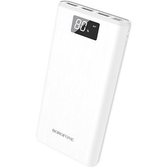 Power Bank Borofone 30000mAh - Branco