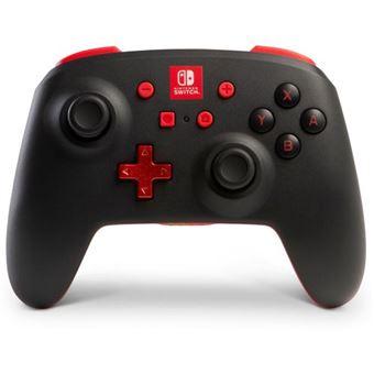Comando Sem Fios para Nintendo Switch - Preto | Vermelho