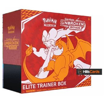 Pokémon Sun and Moon 10: Unbroken Bonds Elite Trainer Box