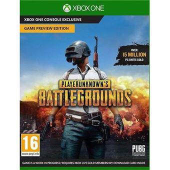 PlayerUnknowns Battlegrounds 1.0 Disk - Xbox One