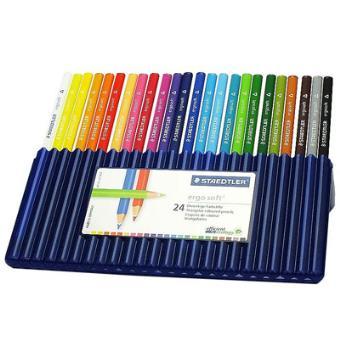 Caixa 24 Lápis de Cor Ergo Soft
