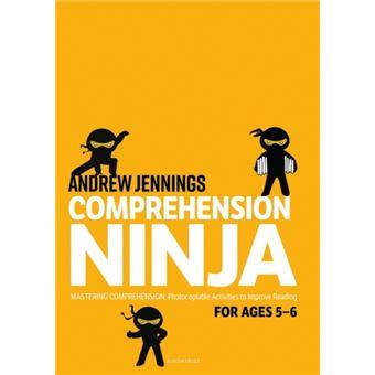 Comprehension ninja for ages 5-6