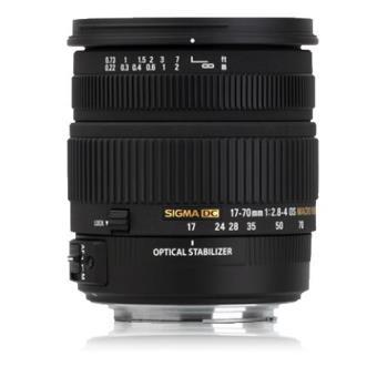 Sigma Objetiva 17-70mm f/2.8-4 DC Macro OS HSM (Nikon)