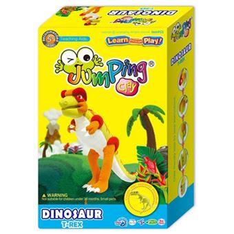 Colorful Dinosaur T-Rex - JumpingClay