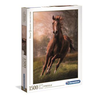Puzzle The Horse - 1500 peças - Clementoni