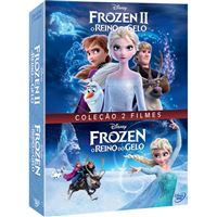 Pack Frozen 1 + 2 - 2DVD