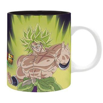 Caneca Dragon Ball Super Broly - Broly vs Goku vs Vegeta