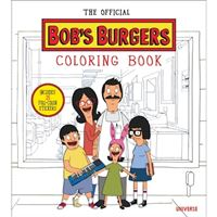 Official bobs burgers colouring boo