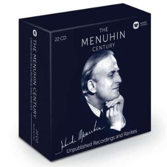 The Menuhin Century | Unpublished Recordings and Rarities (22CD)