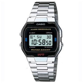 Casio Relógio Collection A163WA-1QES (Prateado)