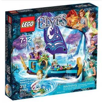 O Barco de Aventuras Épicas da Naida (LEGO Elves 41073)