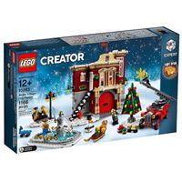 LEGO Creator Expert 10263 Quartel de Bombeiros Aldeia de Inverno