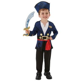 Disfarce Capitão Jake (Tamanho M 5 a 7 anos)