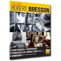 Colecção Robert Bresson: O Carteirista / O Processo Joana D'Arc / O Dinheiro