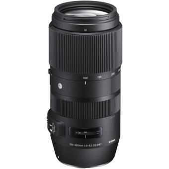 Objetiva Sigma 100-400mm f/5-6.3 DG OS HSM C - Canon EF