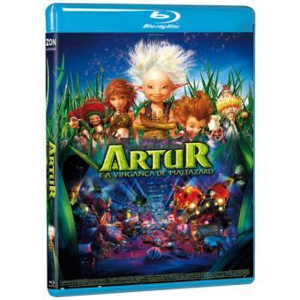 Artur e a Vingança de Maltazard (Blu-ray)