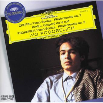 Pogorelich plays Chopin, Ravel and Prokofiev - CD