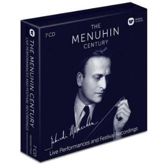 The Menuhin Century | Live Performances and Festival Recordings (7CD)