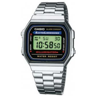 Casio Relógio Collection A168WA-1YES (Prateado)