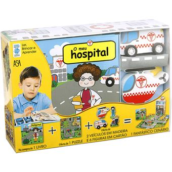 Ler, Brincar e Aprender: O Meu Hospital