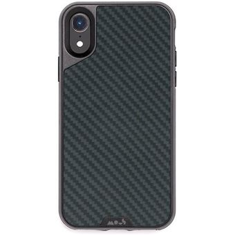 Capa Mous Limitless 2.0 para iPhone XR - Carbono