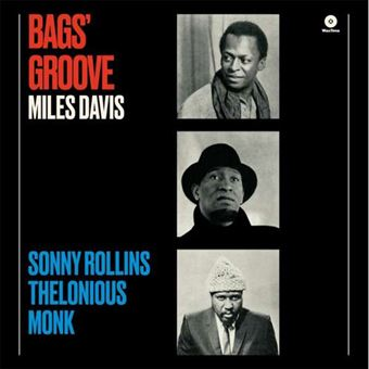 Bag's Groove with Thelonious Monk & Sonny Rollins - LP 180gr Vinil 12''