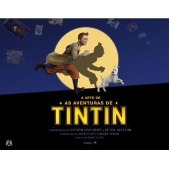 """TintinA Arte de """"As Aventuras de Tintin"""""""