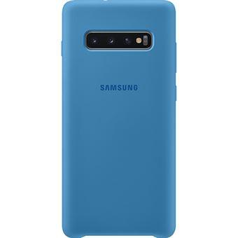 Capa Samsung Silicone para Galaxy S10 - Azul