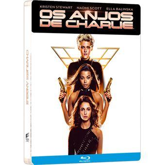 Os Anjos de Charlie - Edição Steelbook - Blu-ray