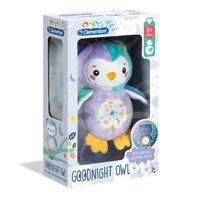 Peluche Baby Coruja Luminosa - Clementoni
