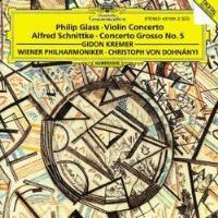 Philip Glass: Violin Concerto/ Alfred Schnittke: Concerto Grosso No. 5