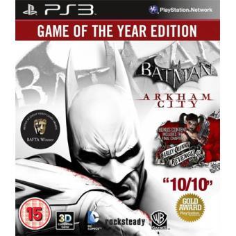 Batman  Arkham City GOTY Edition PS3 - Compra jogos online na Fnac.pt 653f259dde0