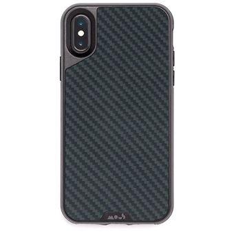 Capa Mous Limitless 2.0 para iPhone X/XS - Carbono