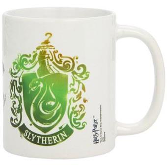 Harry Potter - Caneca Brasão Slytherin (Stencil)